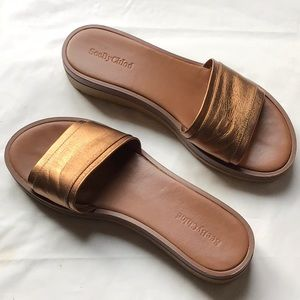 See by Chloe Leather Slides Sz 40/10